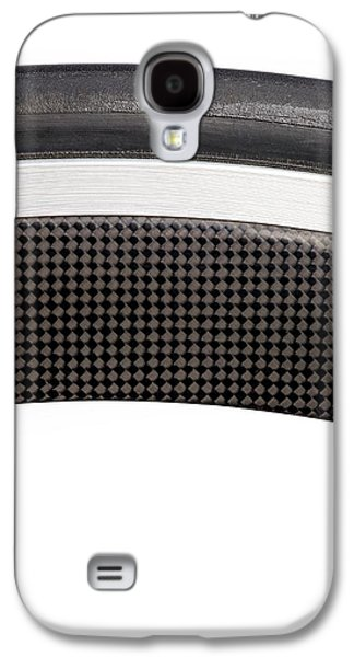 Carbon Fibre Bicycle Wheel Galaxy S4 Case by Science Photo Library