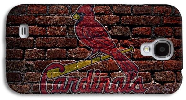Cardinals Baseball Graffiti On Brick  Galaxy S4 Case