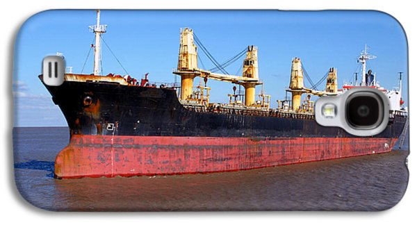Cargo Ship Galaxy S4 Case by Olivier Le Queinec