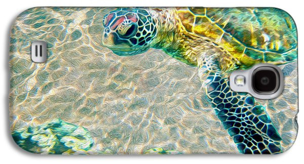 Beautiful Sea Turtle Galaxy S4 Case