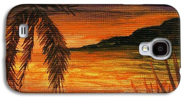 Caribbean Sunset Galaxy S4 Case