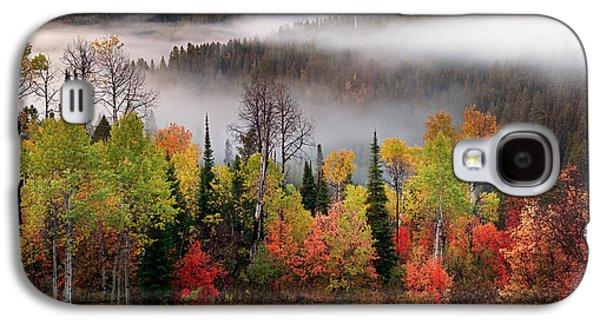 Caribou Canyon Galaxy S4 Case by Leland D Howard