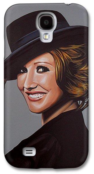 Carice Van Houten Painting Galaxy S4 Case
