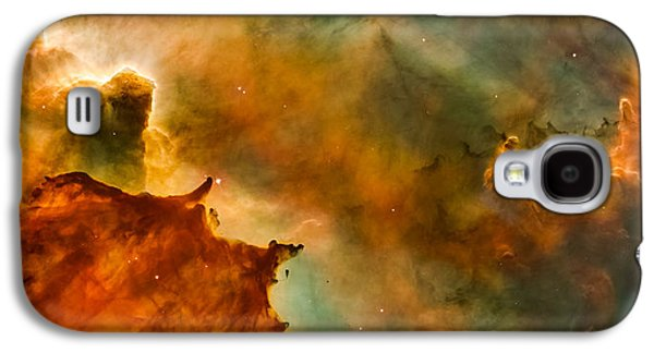 Carina Nebula Details - Great Clouds Galaxy S4 Case by Marco Oliveira