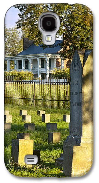 Carnton Plantation Galaxy S4 Case by Brian Jannsen