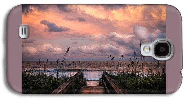 Amazing Sunset Galaxy S4 Case - Carolina Dreams by Karen Wiles
