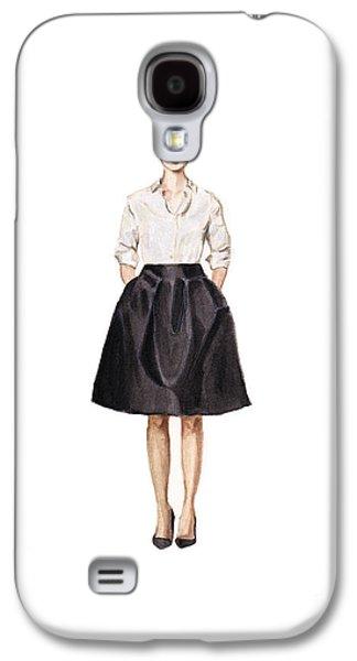 Carolina Herrera Classic Look Galaxy S4 Case by Jazmin Angeles