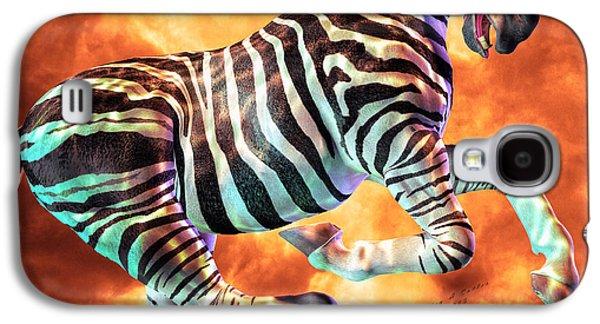Carousel Zebra Galaxy S4 Case