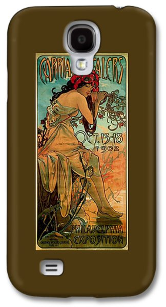 Carriage Dealers Galaxy S4 Case by Alphonse Marie Mucha