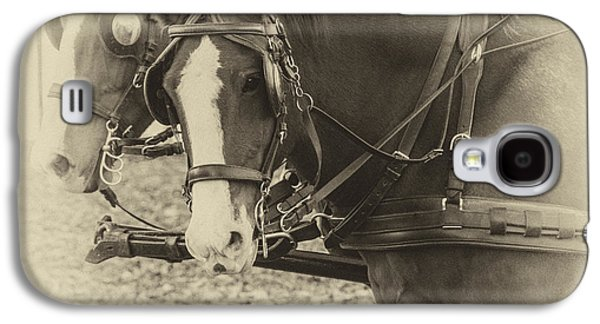 Carriage Horses II Galaxy S4 Case