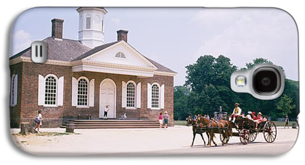 Carriage Moving On A Road, Colonial Galaxy S4 Case by Panoramic Images