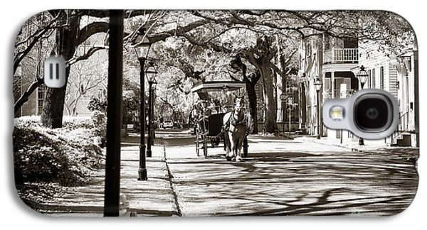Carriage Ride In Charleston Galaxy S4 Case by John Rizzuto
