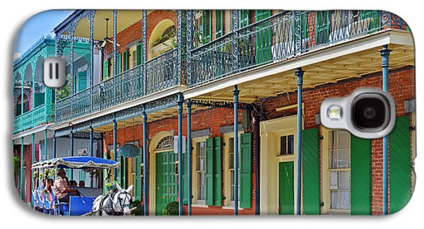Carriage Ride New Orleans Galaxy S4 Case