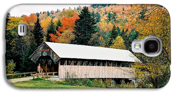 Carriage Road In Autumn Galaxy S4 Case by Lena Hatch
