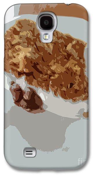Carrot Cake Yum Galaxy S4 Case by Carol Lynch