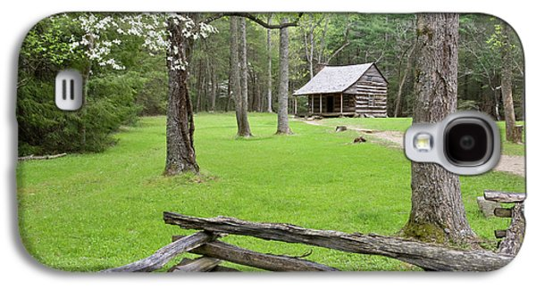 Carter Shields Cabin In Spring, Cades Galaxy S4 Case by Richard and Susan Day