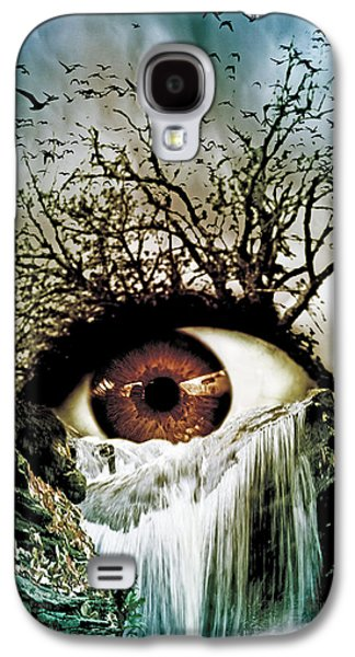 Cascade Crying Eye Galaxy S4 Case by Marian Voicu