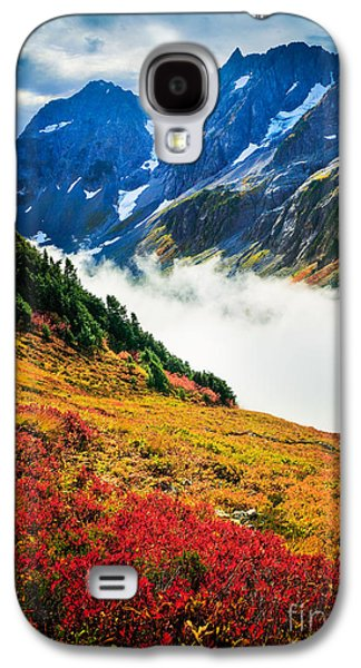 Cascade Pass Peaks Galaxy S4 Case by Inge Johnsson
