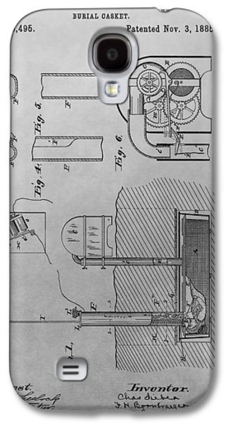 Casket Galaxy S4 Case by Dan Sproul
