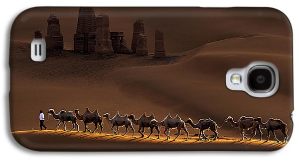 Castle And Camels Galaxy S4 Case