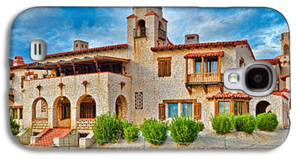 Castle In A Desert, Scottys Castle Galaxy S4 Case by Panoramic Images