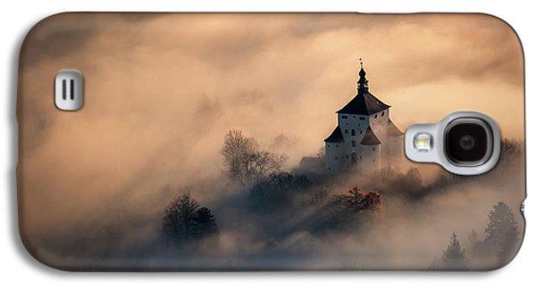 Castle Galaxy S4 Case - Castle In Fire by Peter Kov??ik