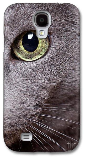 Cat Eye Galaxy S4 Case by Nailia Schwarz