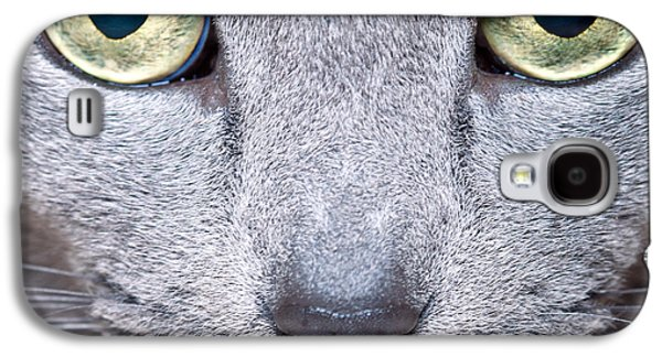 Cat Eyes Galaxy S4 Case by Nailia Schwarz