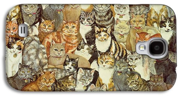 Cat Spread Galaxy S4 Case by Ditz