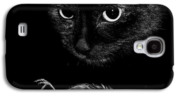 Cat With A Dead Bird Galaxy S4 Case