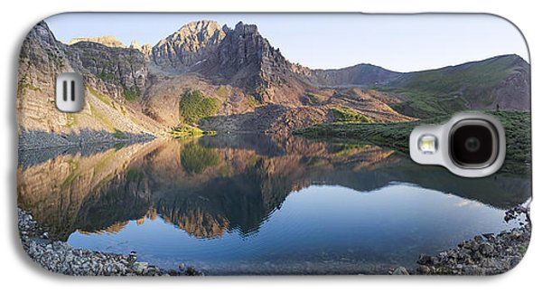 Cathedral Lake Reflection Galaxy S4 Case by Aaron Spong