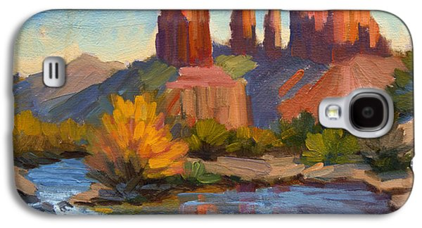 Cathedral Rock 2 Galaxy S4 Case by Diane McClary