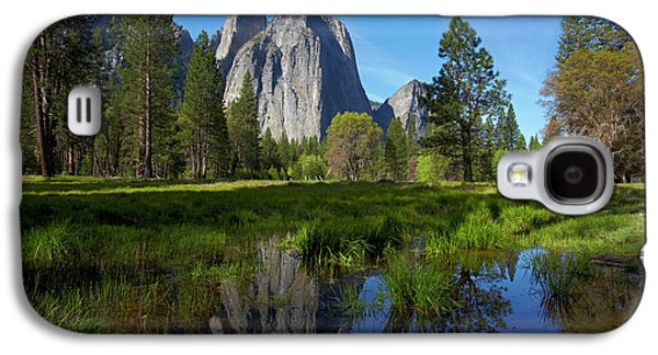 Cathedral Rocks Reflected In A Pond Galaxy S4 Case