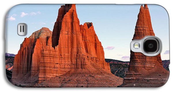 Cathedral Sunrise Galaxy S4 Case by Leland D Howard