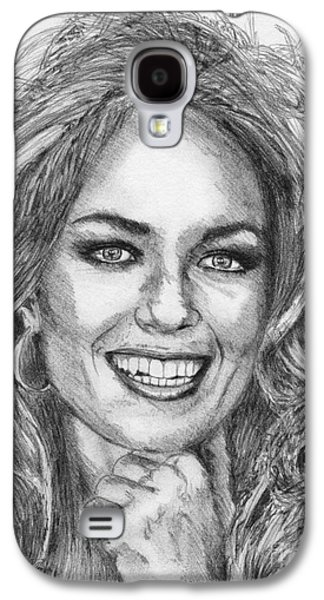 Catherine Bach In 1979 Galaxy S4 Case by J McCombie
