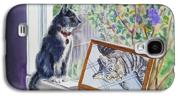 Cats And Mice Sweet Memories Galaxy S4 Case by Irina Sztukowski