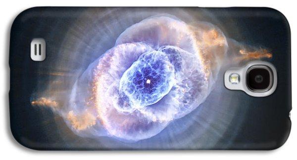 Cat's Eye Nebula Galaxy S4 Case