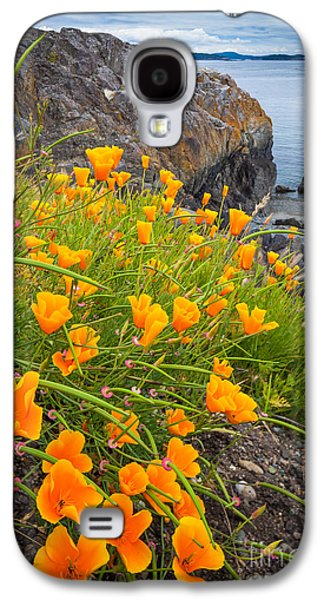 Cattle Point Poppies Galaxy S4 Case