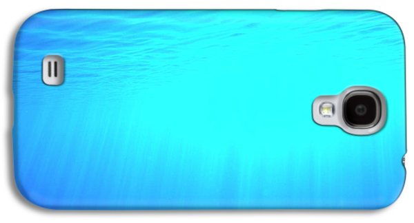 Caustic Rays Below The Sea Surface Galaxy S4 Case by David Parker