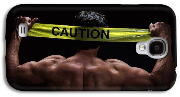 Caution Galaxy S4 Case