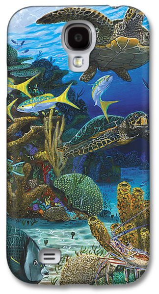Cayman Turtles Re0010 Galaxy S4 Case