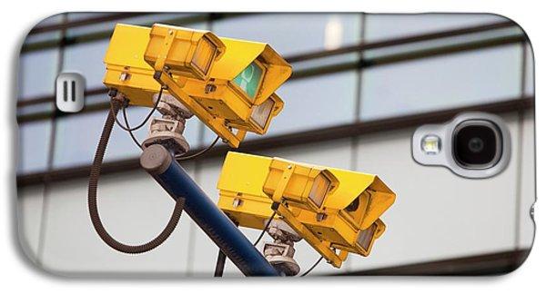 Cctv Cameras For Monitoring Traffic Galaxy S4 Case