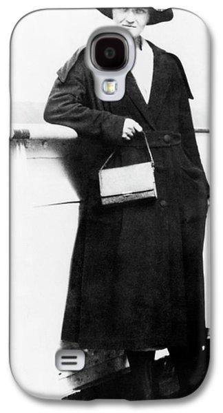 Cecilia Payne-gaposchkin Galaxy S4 Case by Emilio Segre Visual Archives/american Institute Of Physics