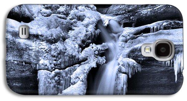 Cedar Falls In Winter Galaxy S4 Case