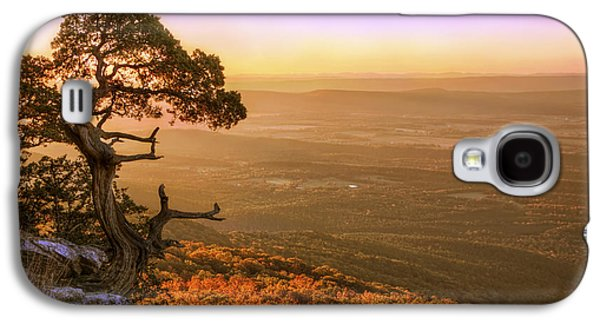 Cedar Tree Atop Mt. Magazine - Arkansas - Autumn Galaxy S4 Case