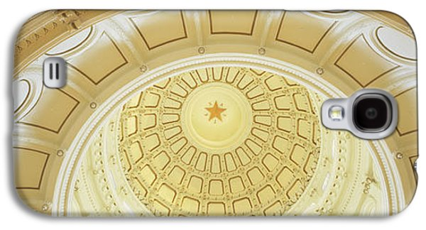 Capitol Building Galaxy S4 Case - Ceiling Of The Dome Of The Texas State by Panoramic Images