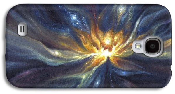 Celestial Lotus Galaxy S4 Case by Lucy West