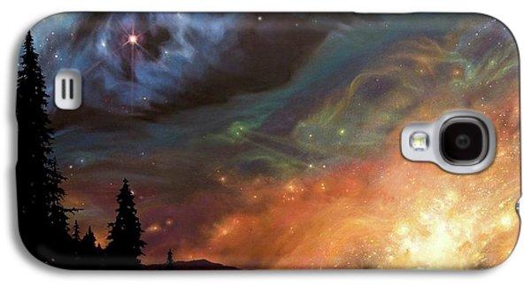 Celestial Northwest Galaxy S4 Case