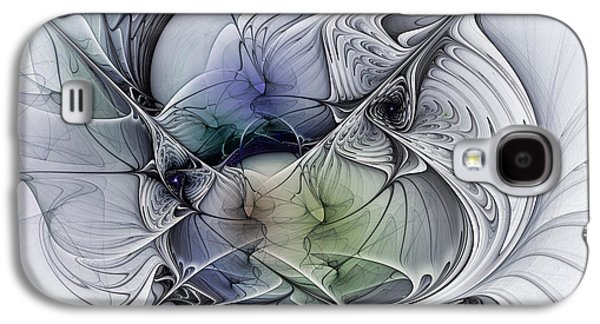 Celestial Sphere Abstract Art Galaxy S4 Case