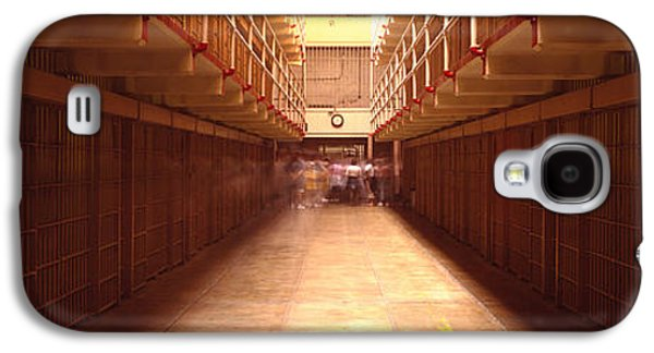 Cell Block In A Prison, Alcatraz Galaxy S4 Case by Panoramic Images
